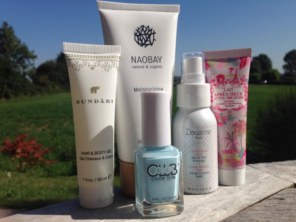 produits glossybox août 2015