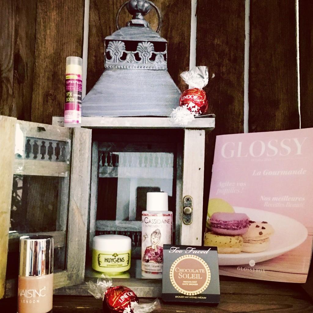 Glossybox octobre 2015