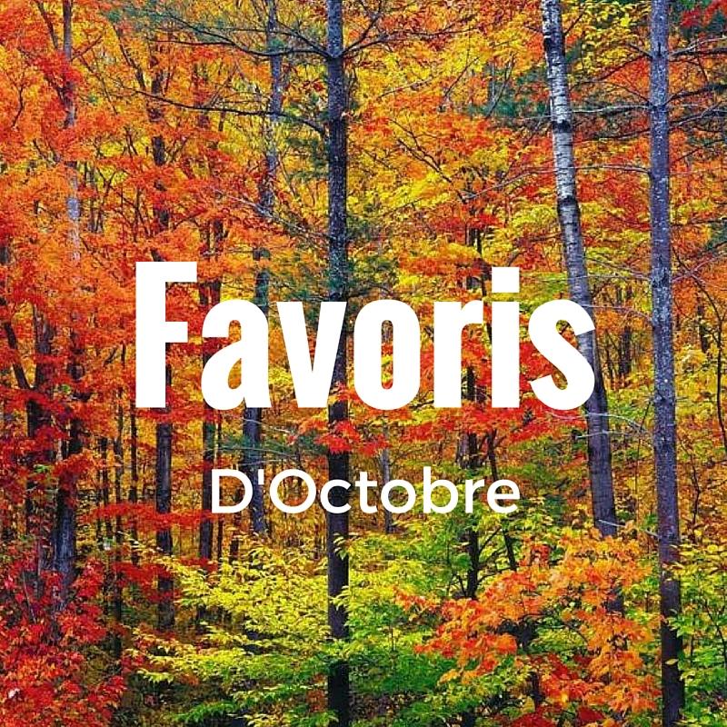 favoris d'Octobre