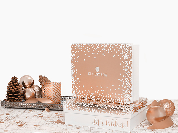 glossybox rose gold