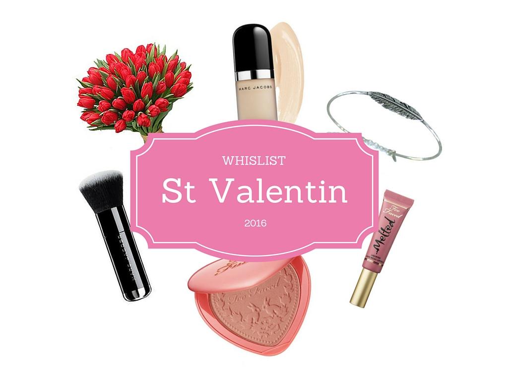 Wishlist St Valentin 2016