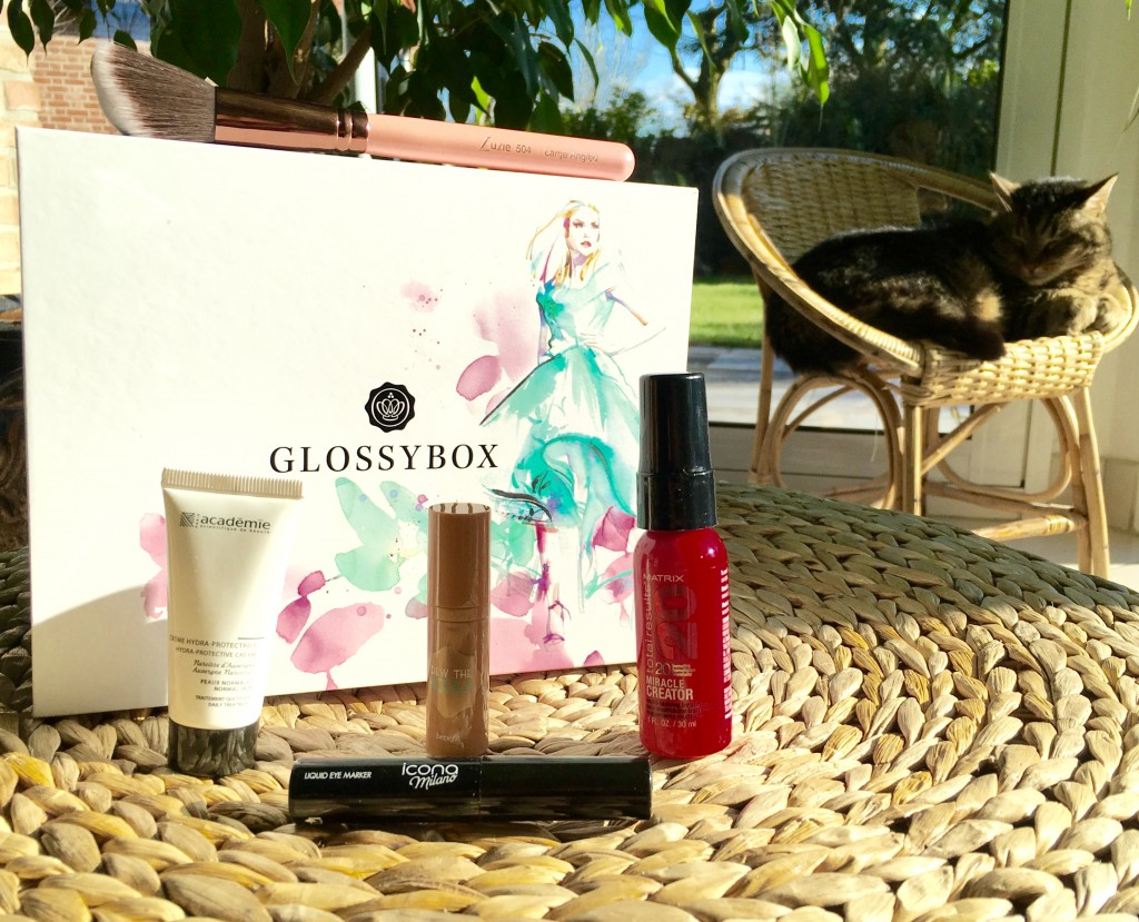 "glossybox avril 2016 ""style edition"""