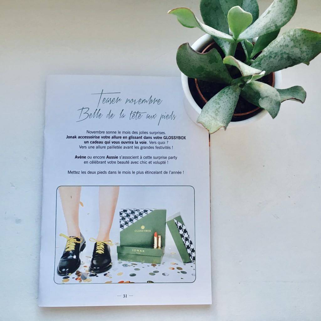 glossybox-novembre2016-belle-de-la-tete-aux-pieds-jonak