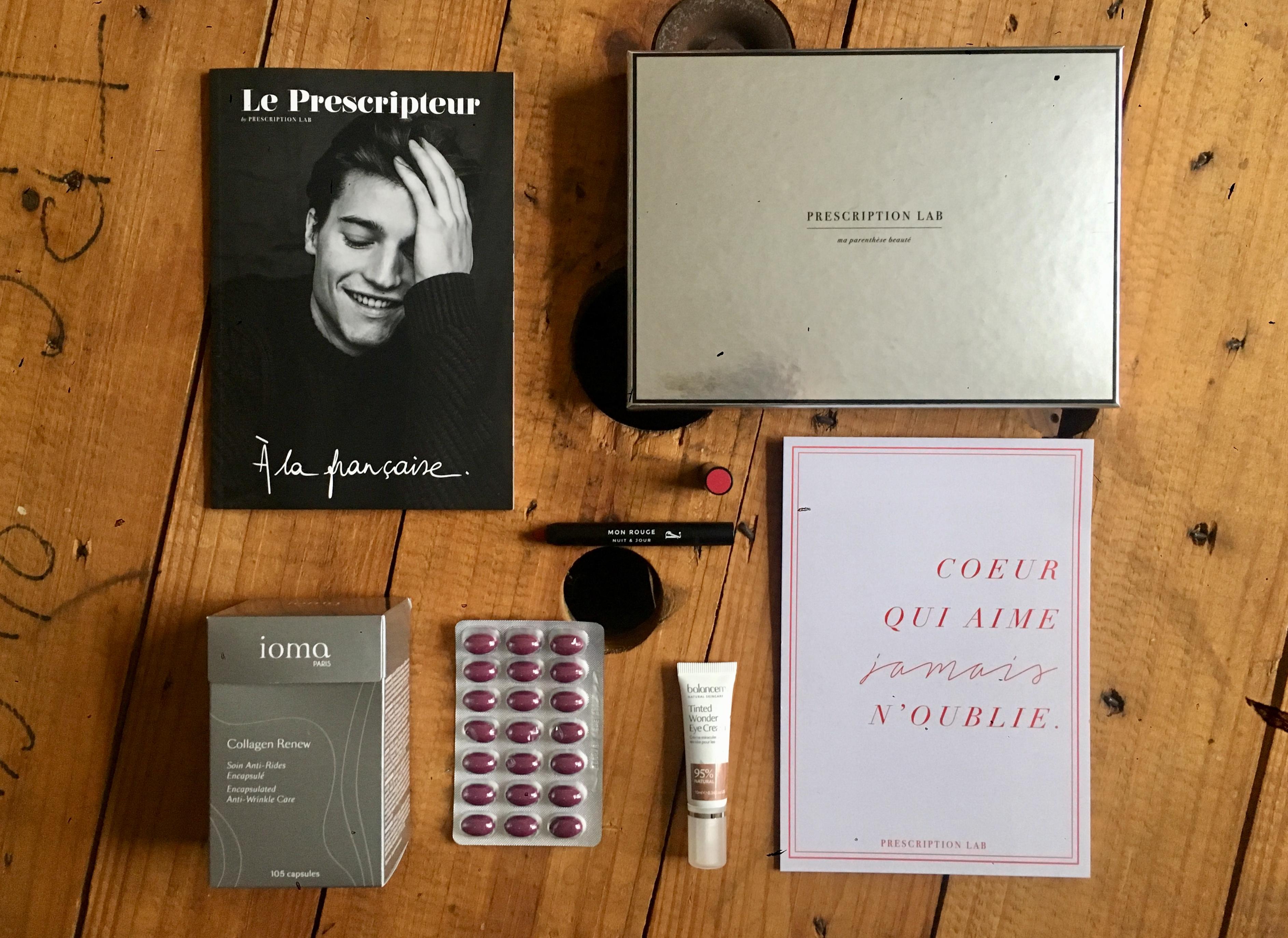 Prescription Lab A la Française de Février 2018