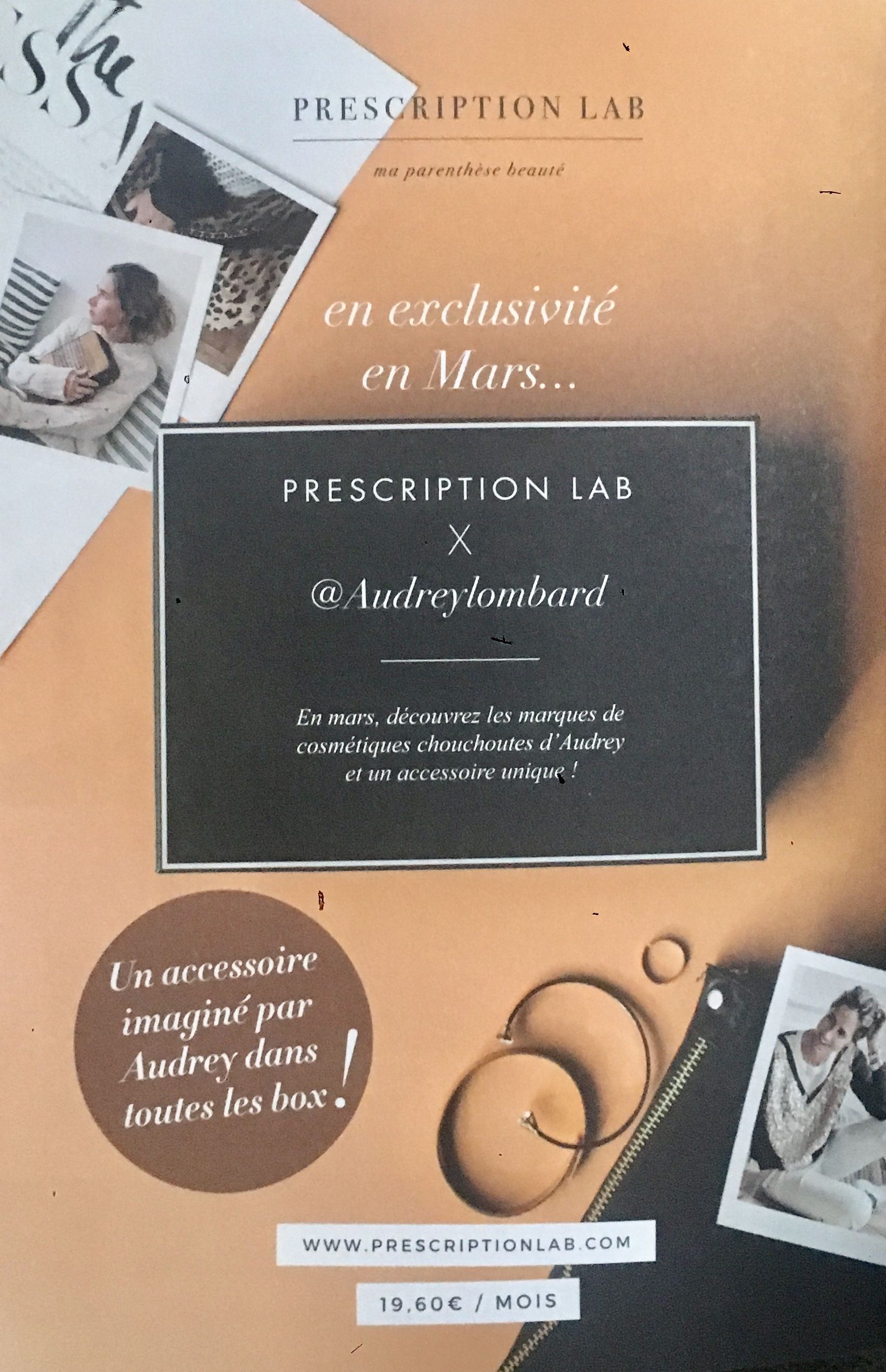 Prescription Lab de Mars 2018