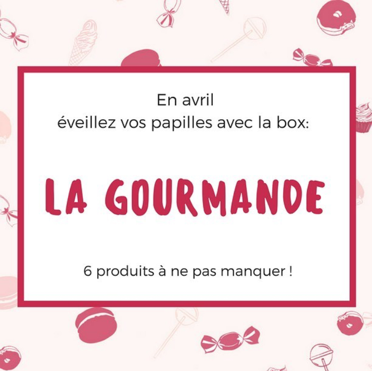 Teaser La Capricieuse Box d'Avril