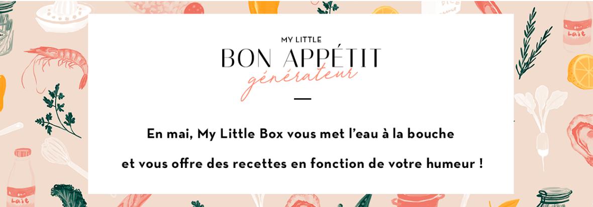 MyLittleBox de Mai 2018