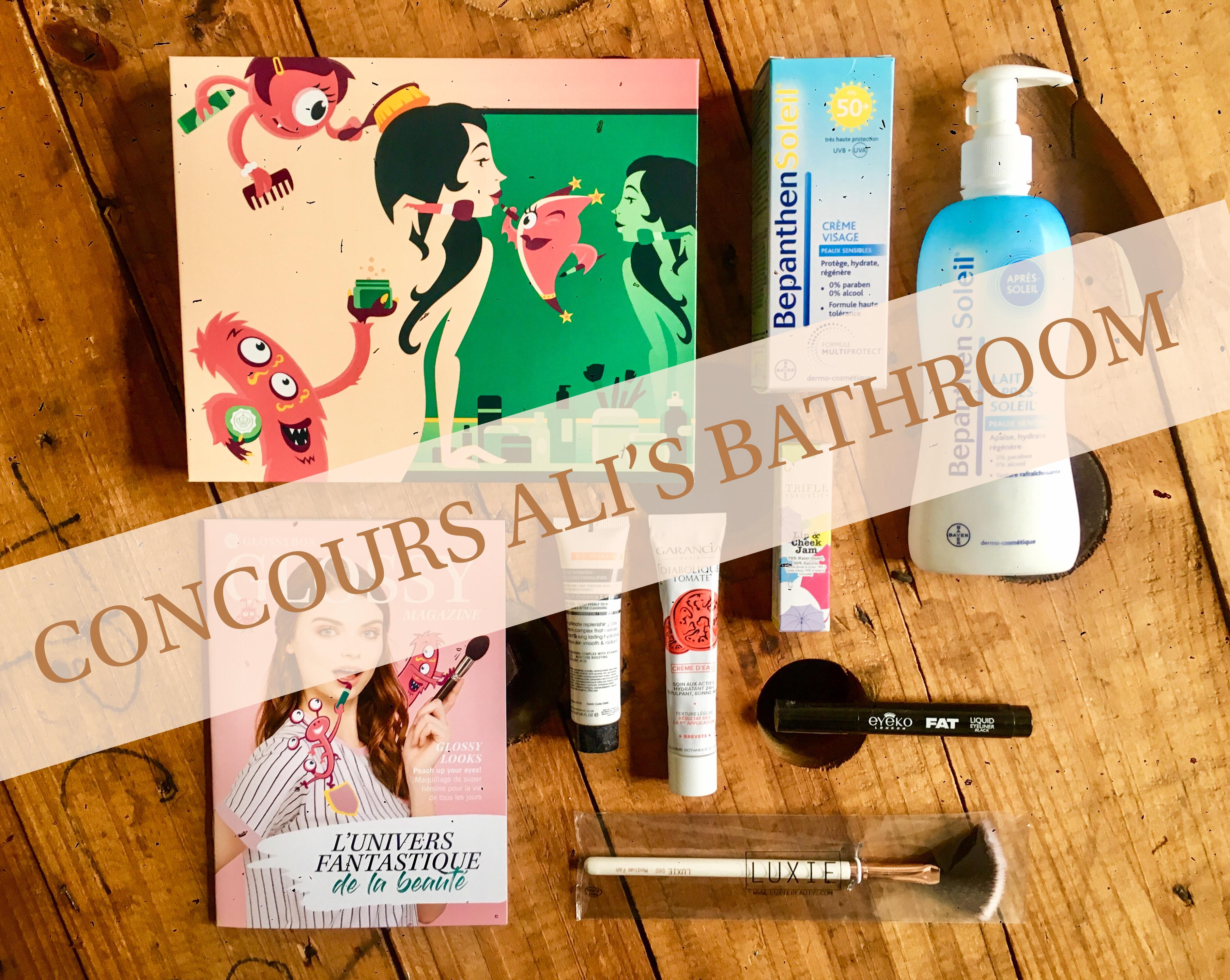 Concours Ali's Bathroom