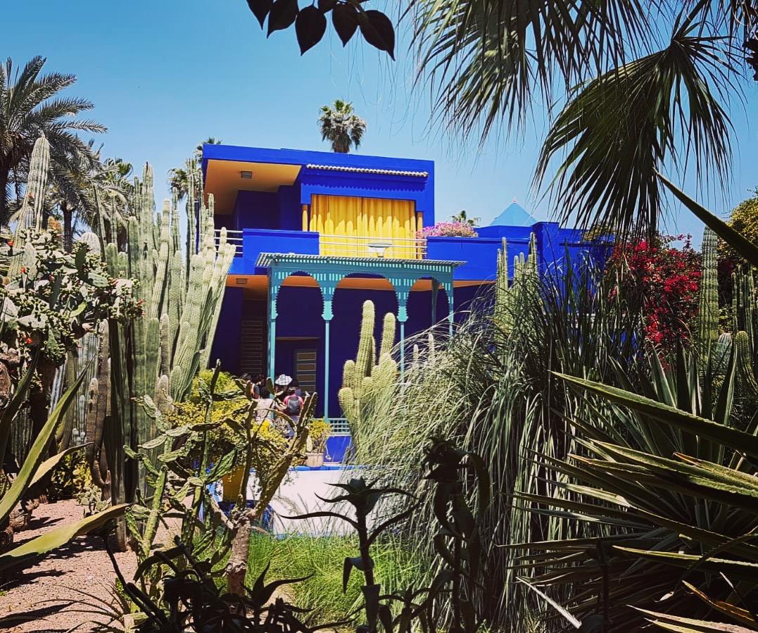 jardins majorelle marrakech