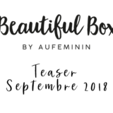 beautiful box de septembre 2018