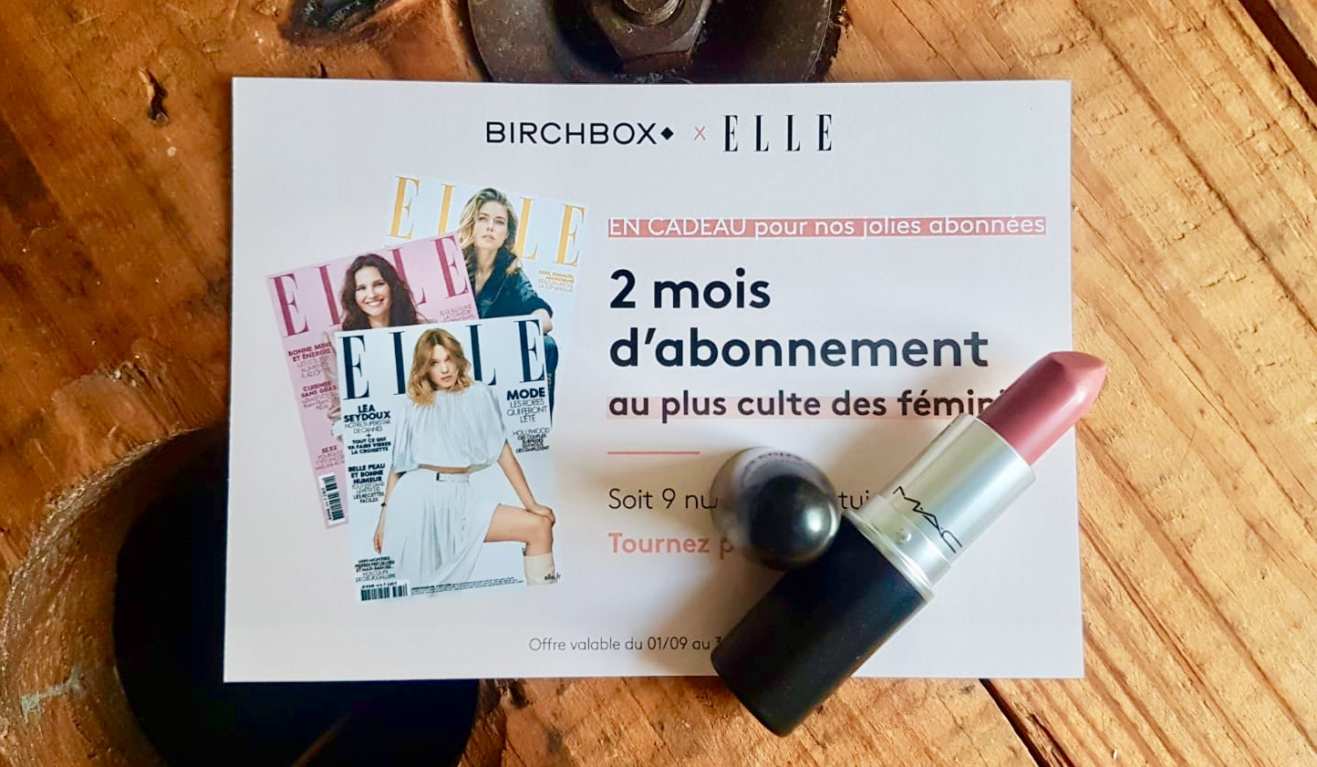 Birchbox X Elle - MAC