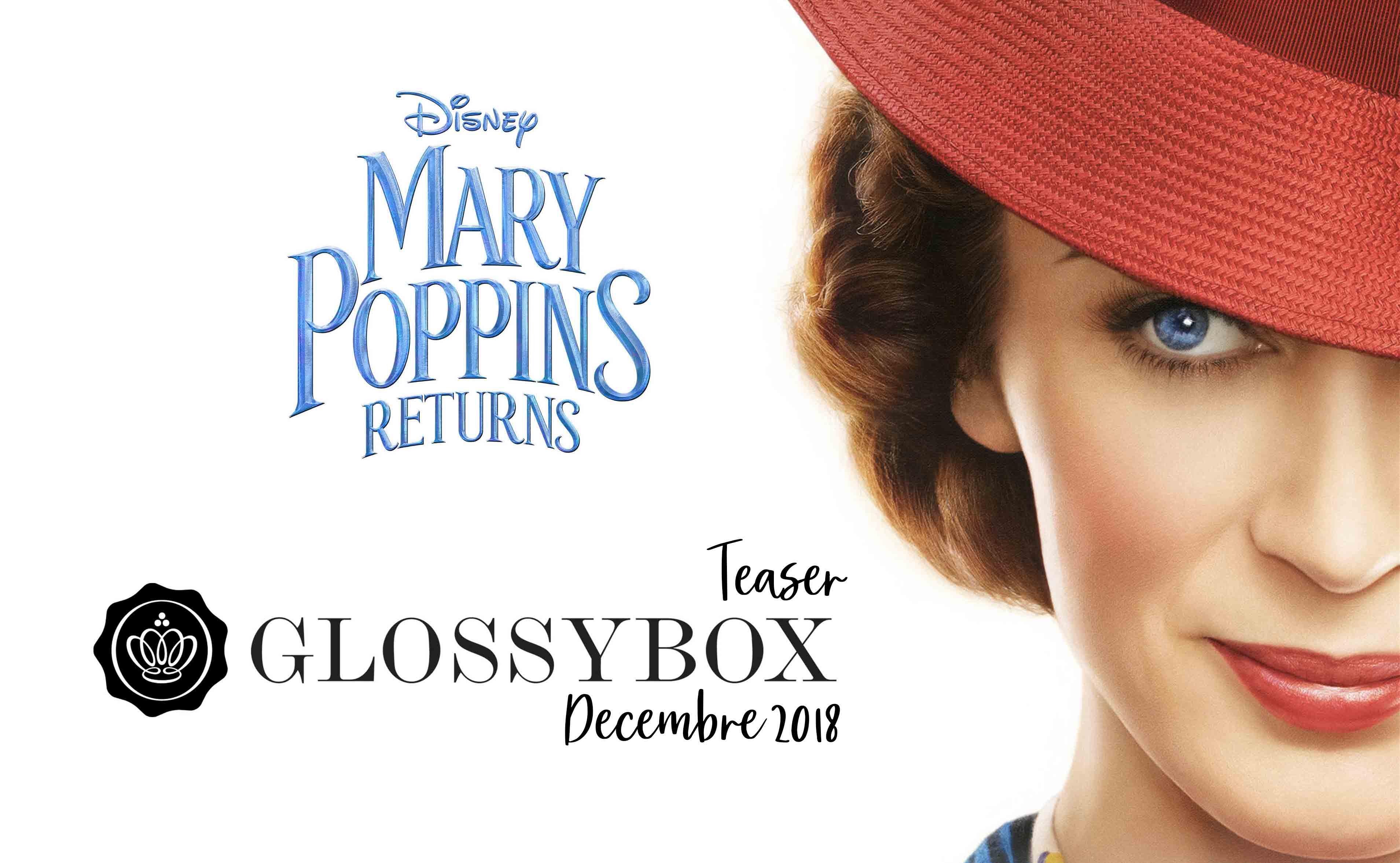 glossybox de decembre 2018