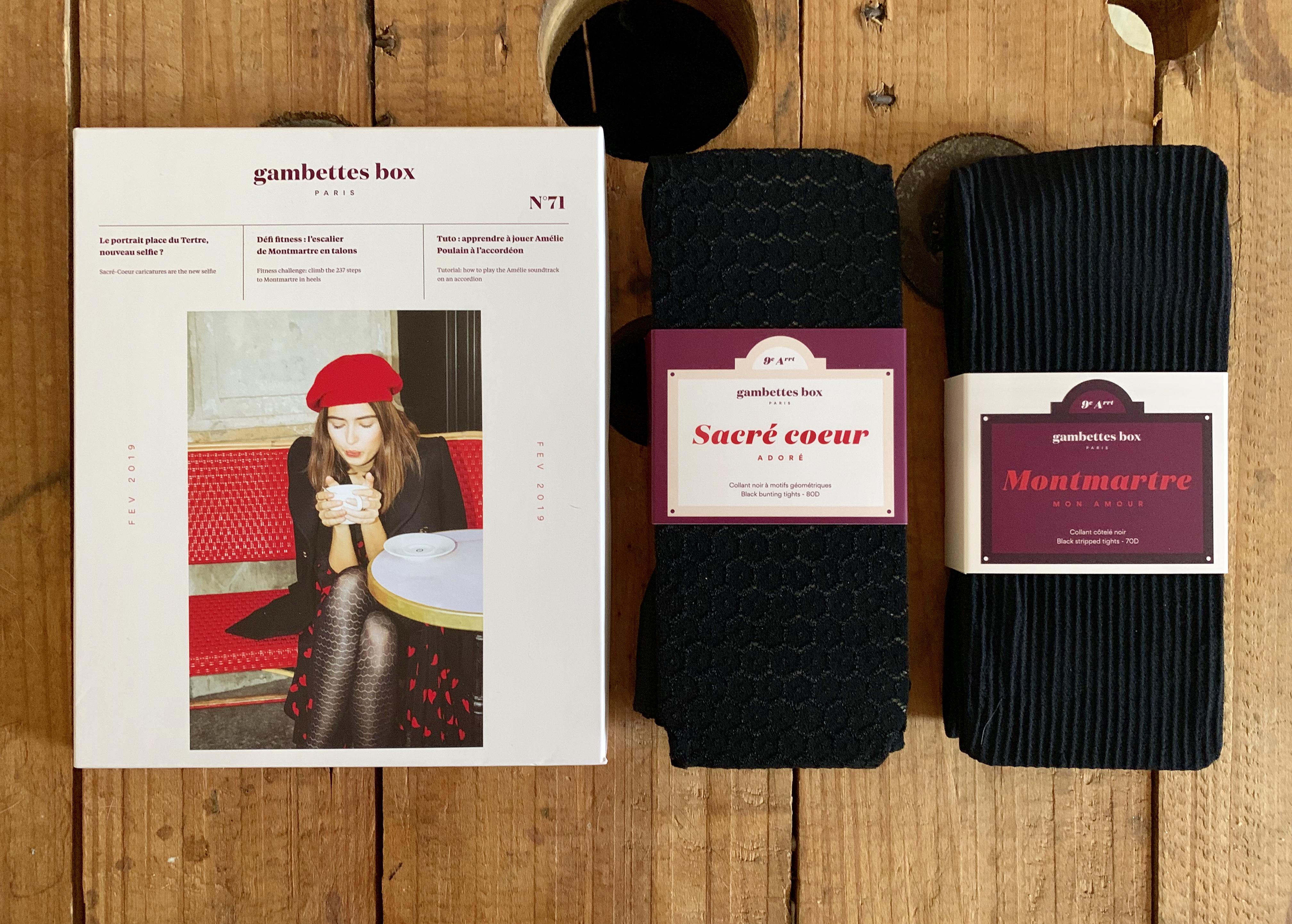 Gambettes box de Février 2019