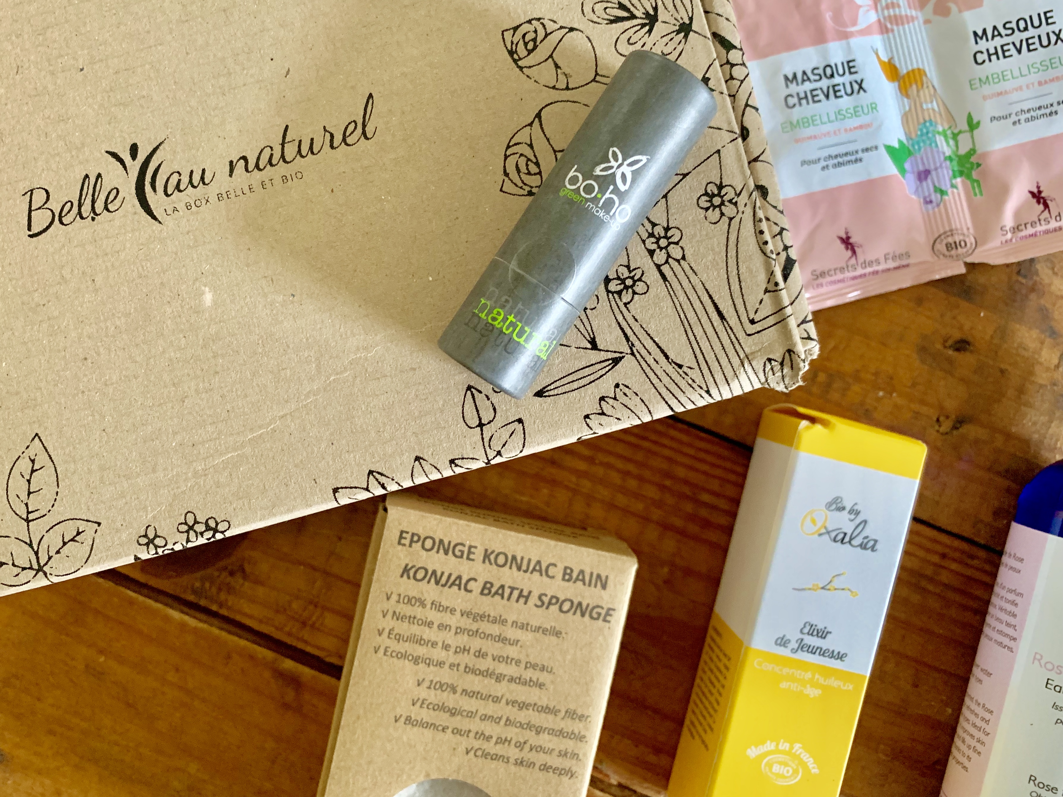 Box Belle au Naturel de Mai 2019