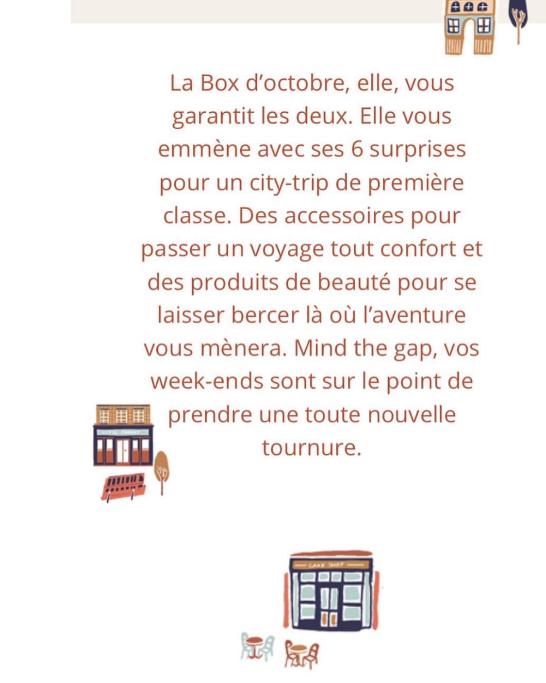 MyLittleBox d'Octobre 2019