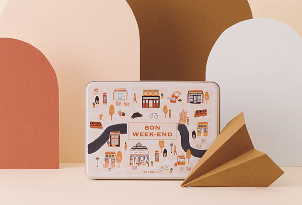 Box métal - MyLittleBox d'octobre 2019