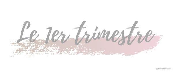 Grossesse : Le 1er trimestre