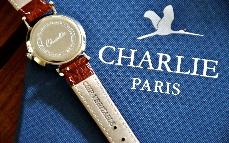 Bracelet en cuir véritable - Charlie Paris