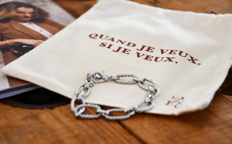 Bracelet Agathe + Pochon - Emma et Chloé - Novembre 2019