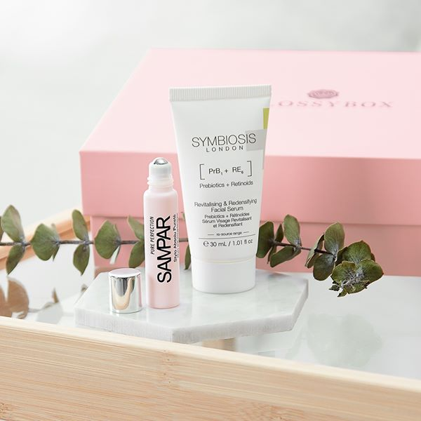 Teaser - 2 premiers produits - Glossybox Janvier 2020