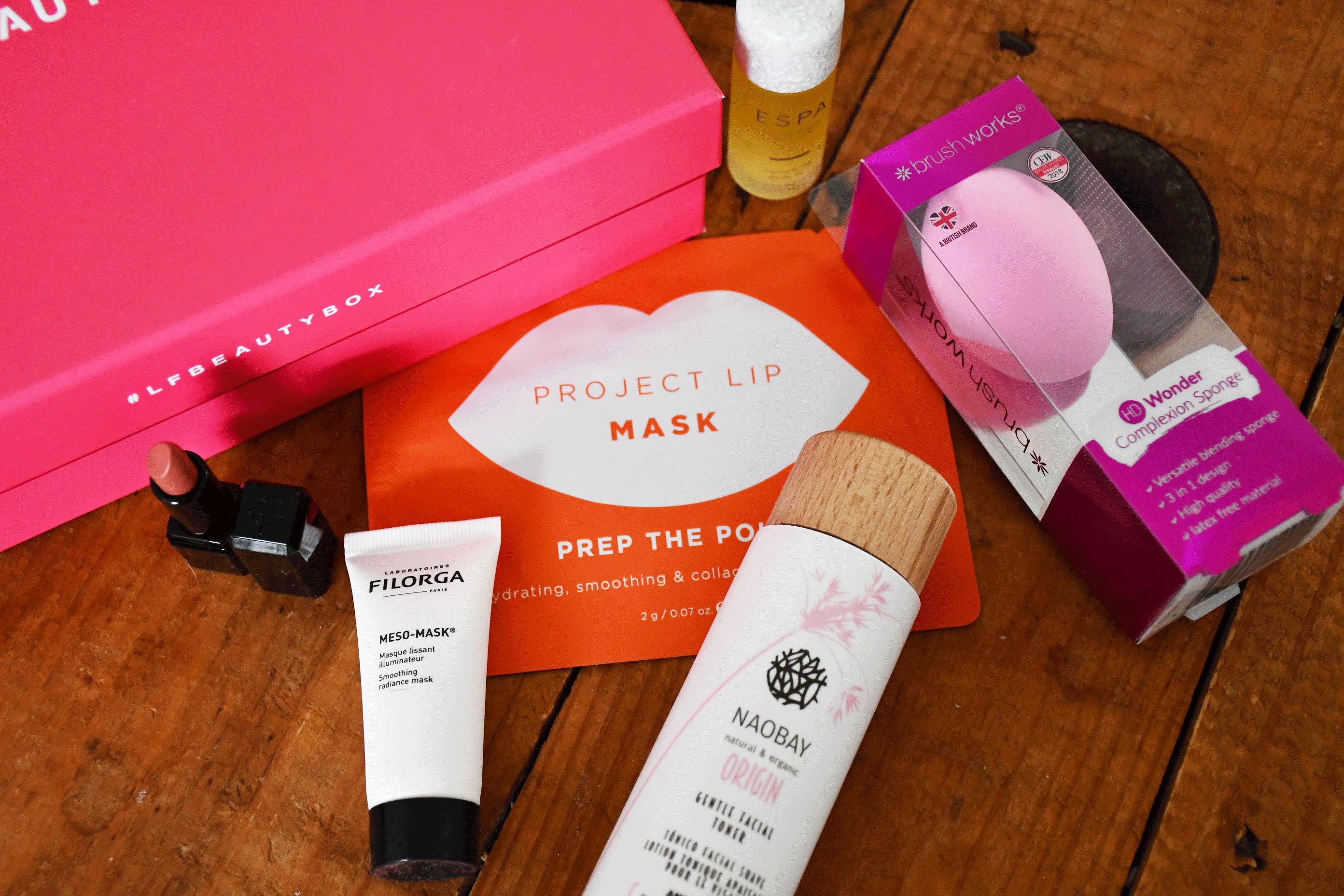 Contenu LookFantastic Beauty Box - Février 2020