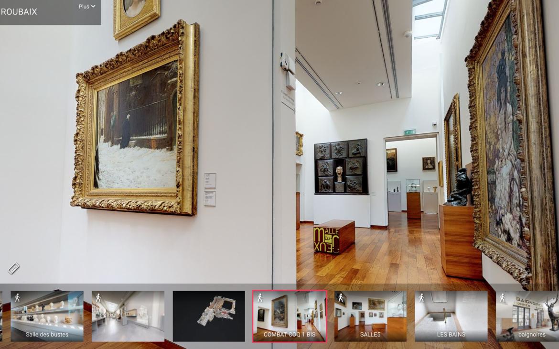 Visite virtuelle du musée La Piscine de Roubaix