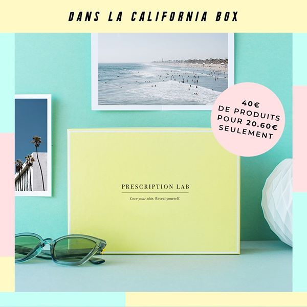 Calfornia Box - Prescription Lab - Juin 2020