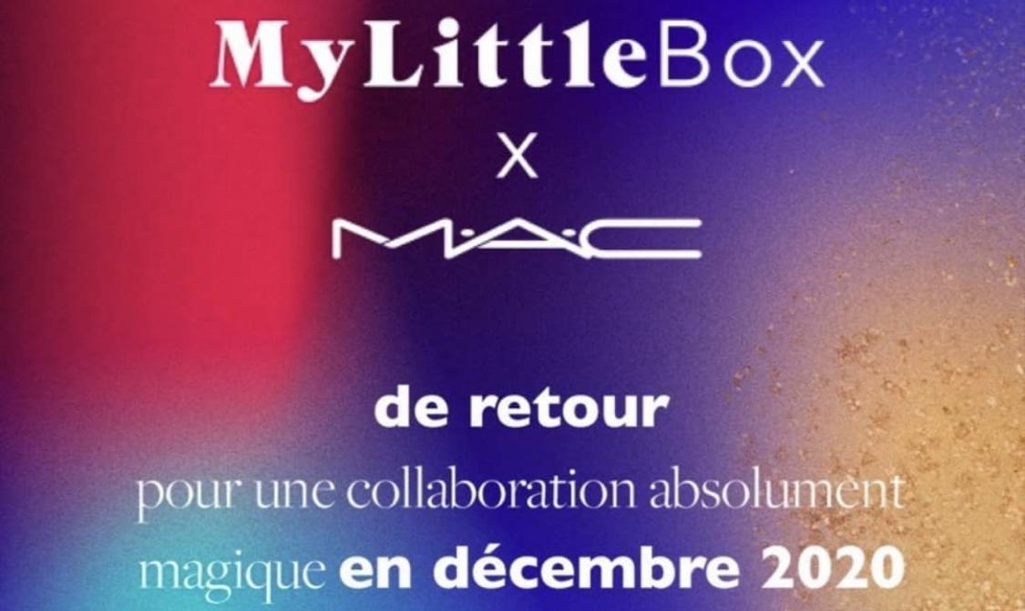 MyLittleBox X MAC - Décembre 2020