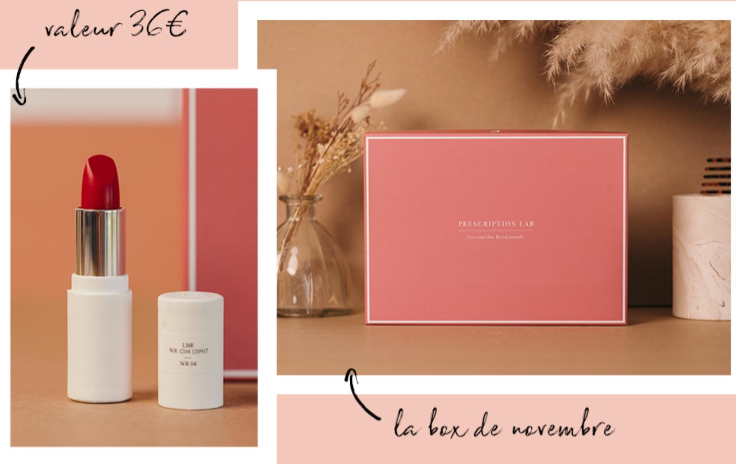 Offre La Bouche Rouge X Prescription Lab