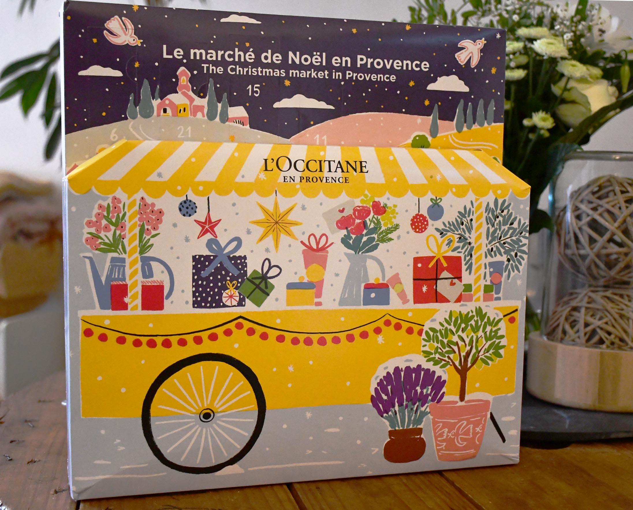 Calendrier de l'avant L'Occitane en Provence